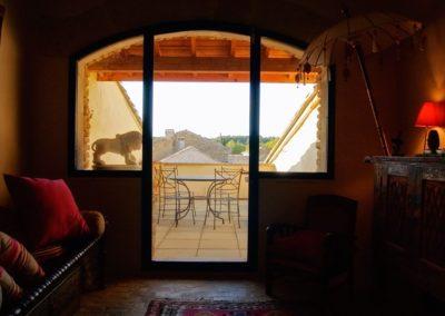 La maison bleu: Etage 2 - Terrasse