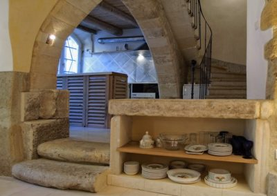 The blue house: Ground floor - Kitchen