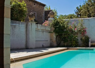 Logis du Bourg: Swimming pool