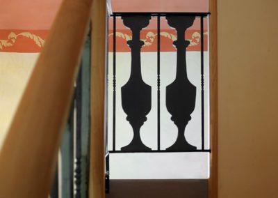 L'Andalouse: Rez de chaussée - Escalier