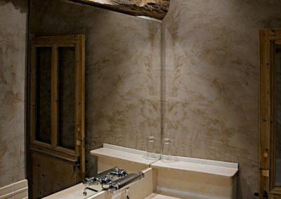 La Lavandière: Etage 1 - Salle de bain ch.1