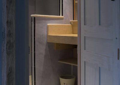 La Lavandière: Etage 1 - Salle de douche ch.2
