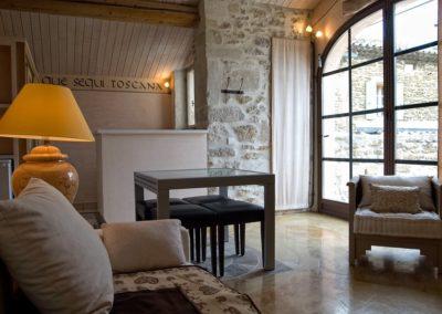 La Toscane: Rez de chaussée - Salon