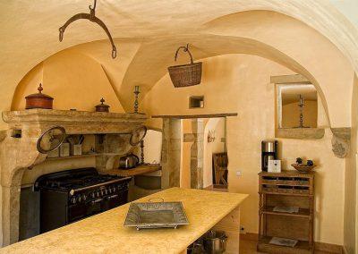 La Provencale: Rez de chaussee cuisine